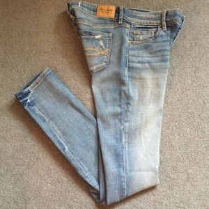 Abercrombie&Fitch Light Blue Straight Legged Jeans